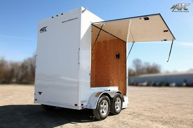 Custom Trailers, Mobile, Marketing,12ft, Merchandise, Sale