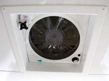 12 Volt Fantastic Fan, Windows, Vents, Custom Trailer, Options