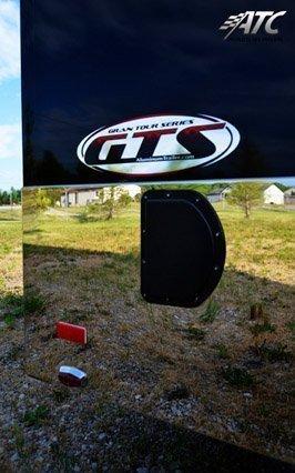 Custom Trailes, Car Hauler, Sport, Motorcycle, 16 ft, Black, Aluminum