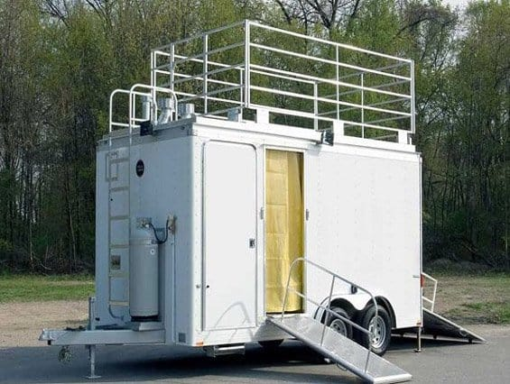 Custom Trailers, Emergency Management, Hazmat, Decon, 18 ft, Decontamination