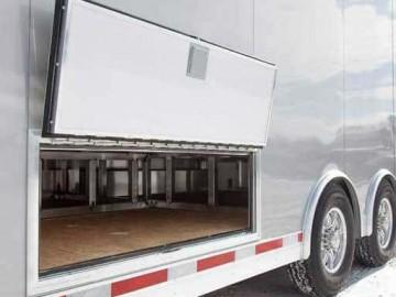 Subfloor Storage Compartment, Exterior, Custom Trailer Options