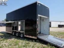 Rear Ramp Door, Custom Trailer Options