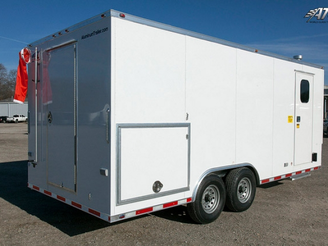 Custom Trailers, Oil, Gas, 20ft, Field, Crew