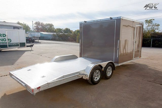 Custom Trailers, Car Hauler, Sport, Flatbed, 2015 Aluminum, Open