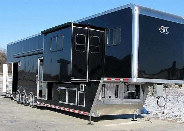 Car Hauler - Race Trailers with Living Quarters 5