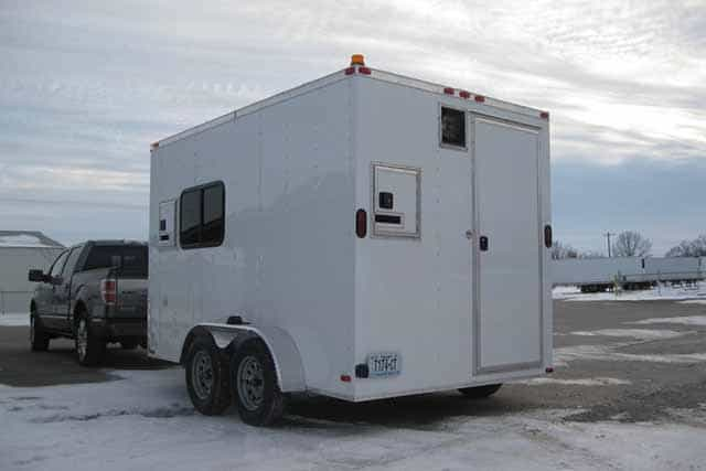 7x12 Office Trailer - IN STOCK