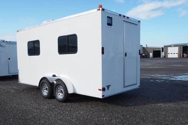 7x16 Office Trailer Command Center