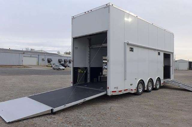 8.5x26 ATC Aluminum Stacker Trailer