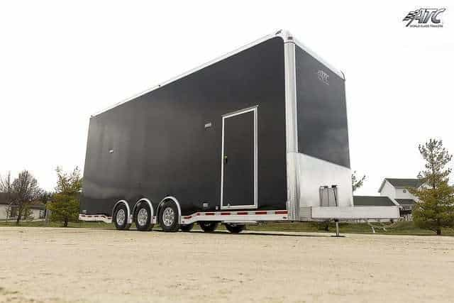8.5x28 ATC Aluminum Stacker Race Trailer
