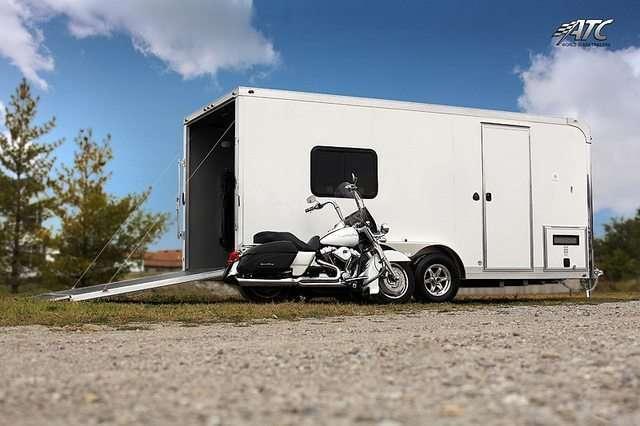 Custom Atc Aluminum Motorcycle Trailers Mo Great Dane