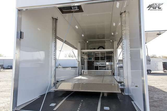 Custom Living Quarters Race Trailer