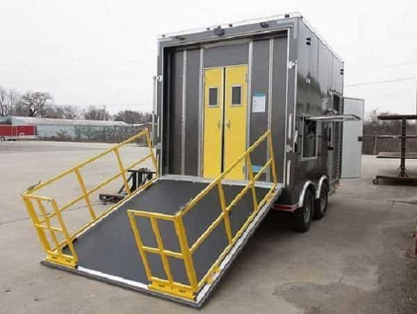 Mobile Decon Shower Trailer