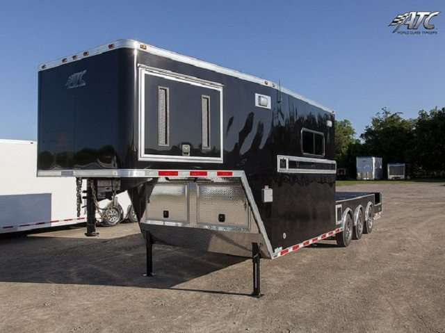 Gooseneck Fiber Optic Trailer