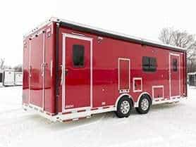 Hazmat Fire Rescue Trailer