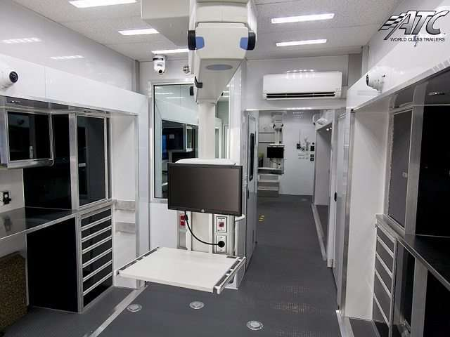 Custom Mobile Medical Trailers Mo Great Dane Trailers