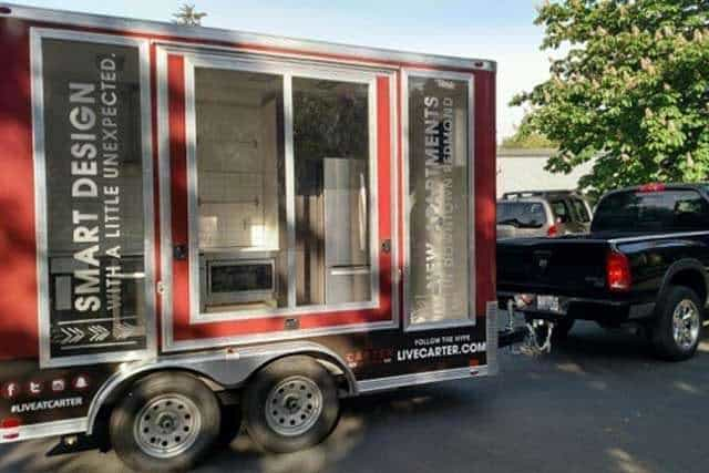 Event Display Trailer with Wrap