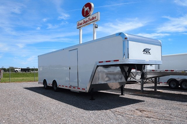 32' Custom Enclosed Gooseneck Trailer