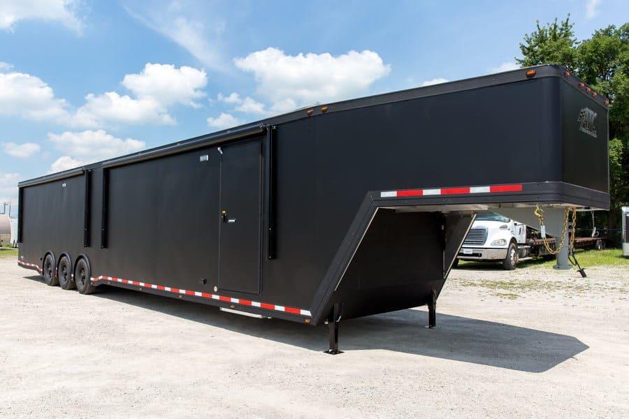 car hauler   bumper pull race trailers mo great dane