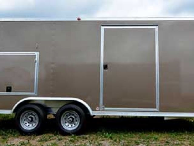 Bronze Metallic Trailer Color, Custom Trailer Options