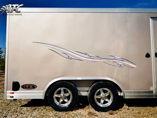 Champagne Beige Trailer Color, Custom Trailer Options