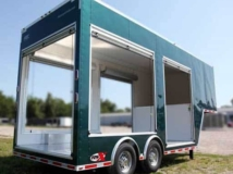 Emerald Green Metallic Trailer Color, Custom Trailer Options