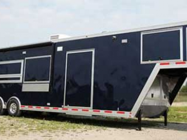 Indigo Blue Trailer Color, Custom Trailer Options