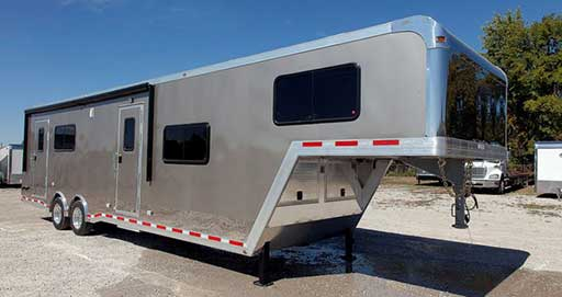 Light Pewter Metallic Trailer Color, Custom Trailer Options