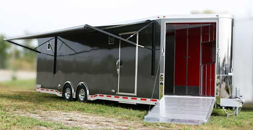 Medium Charcoal Trailer Color, Custom Trailer Options