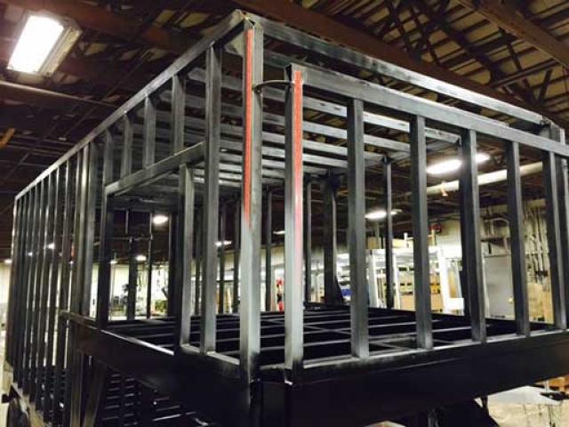 Steel Frame Trailer, Custom Options