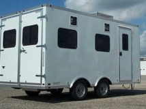 White Trailer Color, Custom Trailer Options
