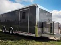 Dark Gray Metallic Trailer Color, Custom Trailer Options