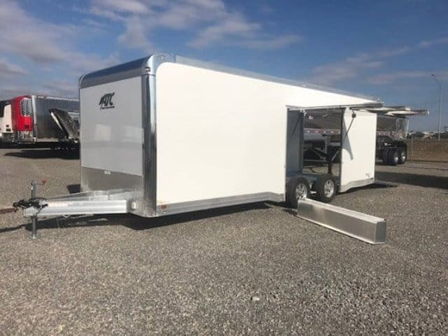 24 ft ATC CH405 Aluminum Enclosed Car Hauler