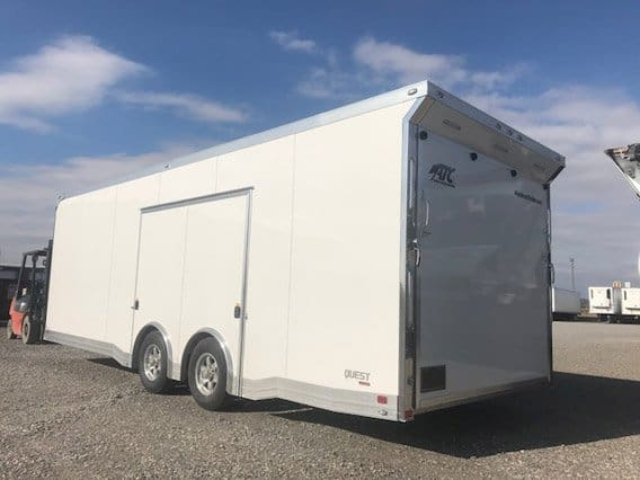 24 ft Trailer, ATC Trailer, CH405, Aluminum Trailer, Enclosed Car Hauler, MO Great Dane, ATC