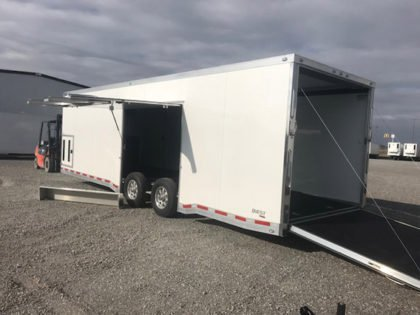 Inventory - Enclosed Car Hauler - ATC Quest CH305 8.5x28 Aluminum Car Hauler