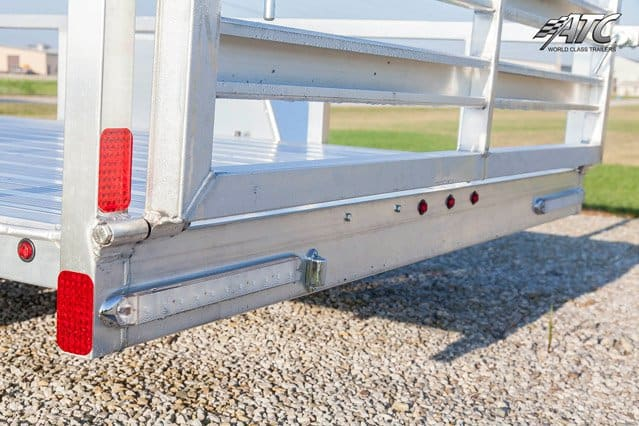 Aluminum Utility Trailer, ATC Trailer, 5x10, Open Trailer, ATC Flatbed Trailer, MO Great Dane,