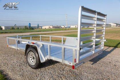 5x10 ATC Aluminum Utility Trailer