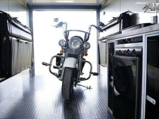 ATC Enclosed Motorcycle Hauler