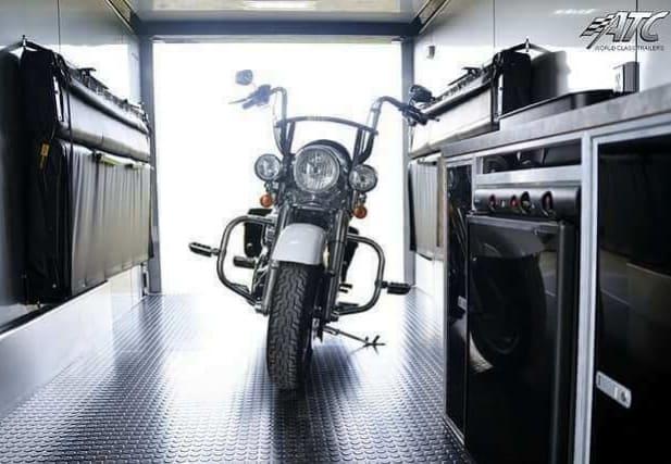 ATC Enclosed Motorcycle Hauler