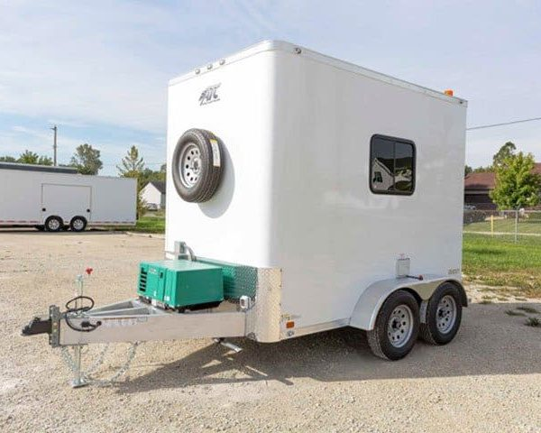 Fiber Optic Splicing Trailers