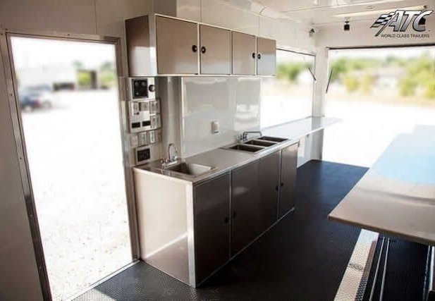Concession Trailer w/ Kitchen