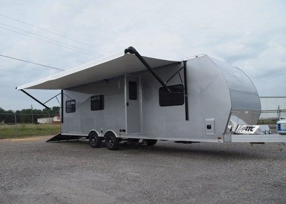Car Hauler - Race Trailers with Living Quarters
