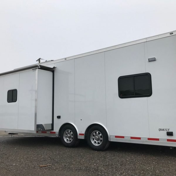 Emergency Management - Mobile Command - 24 ft Mobile Command Trailer with Slideout