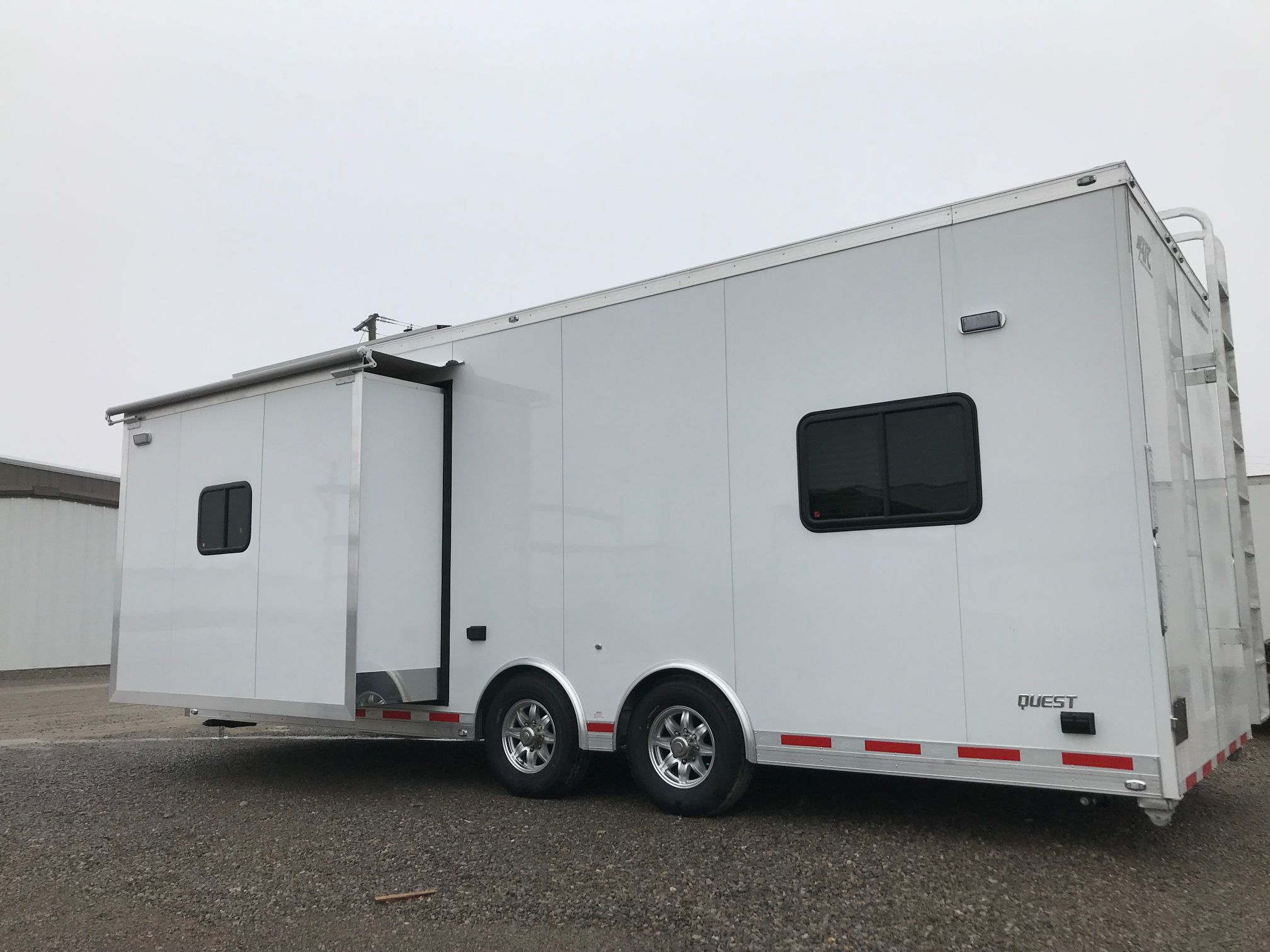 24 ft Mobile Command Trailer with Slideout