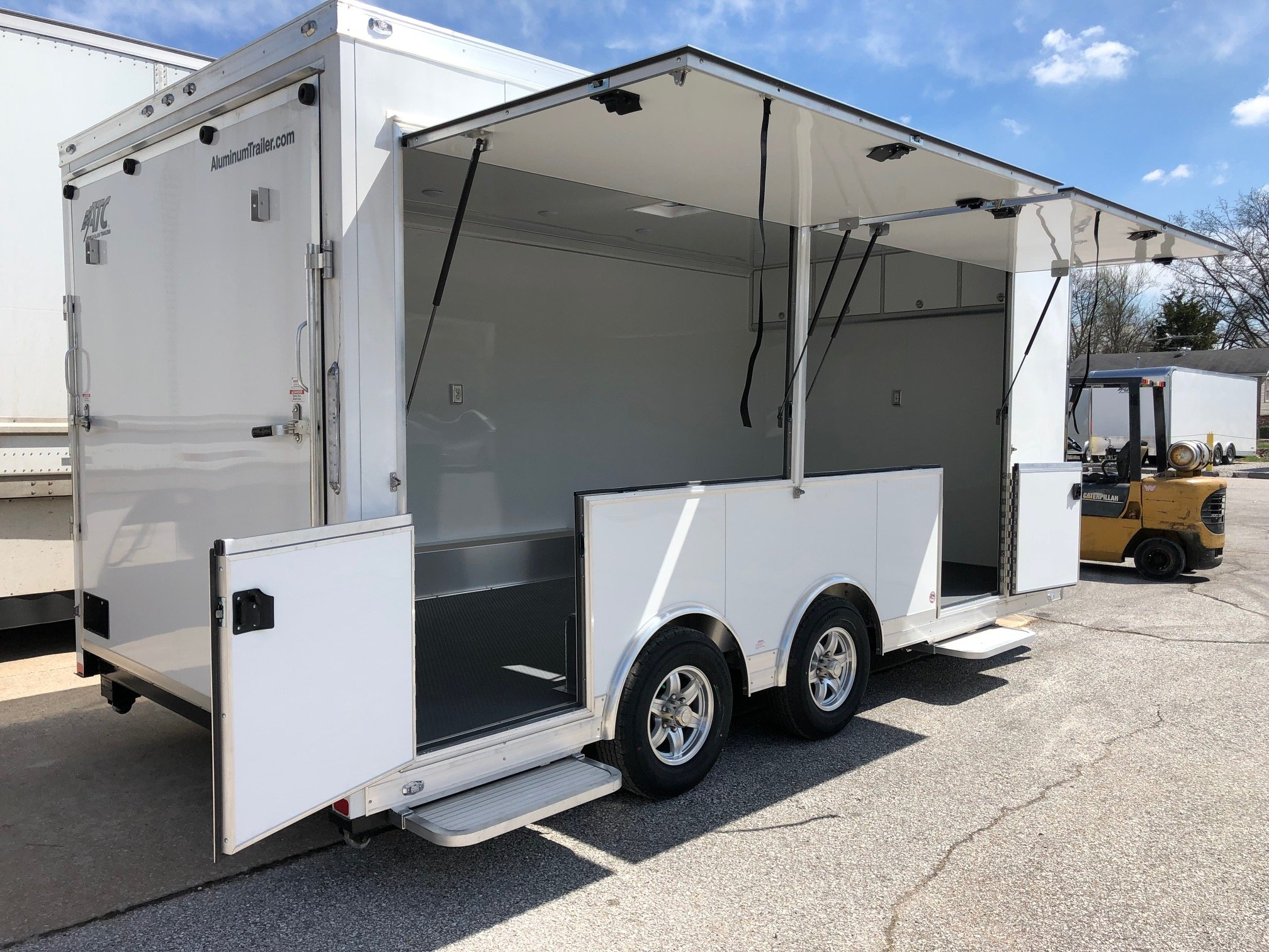 In-Stock $19,995 Product Display Trailer