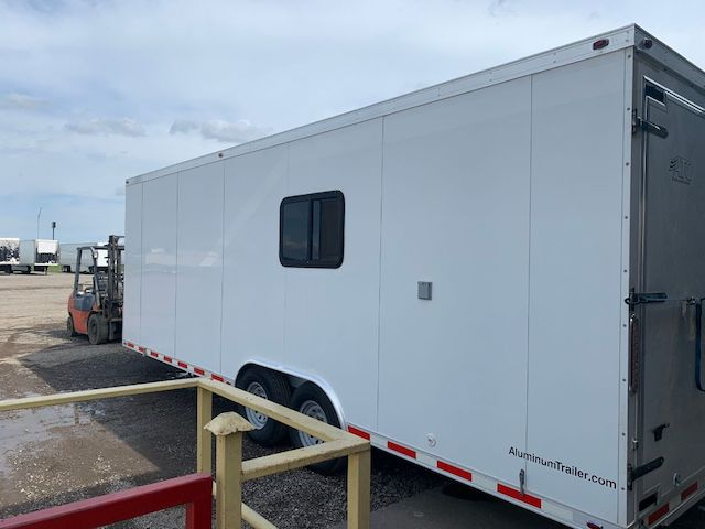 In Stock Trailer, Lab Trailer, Laboratory Trailer, Office Trailer, Mobile Command Trailer, Medical Trailer