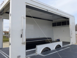 Custom, Mobile, Marketing, Trailers, 20ft, ATC, Product Display Stage