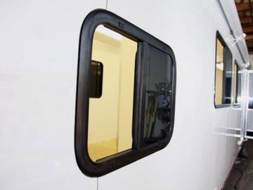 24 x 18 Slider Window, Windows, Vents, Custom Trailer, Options