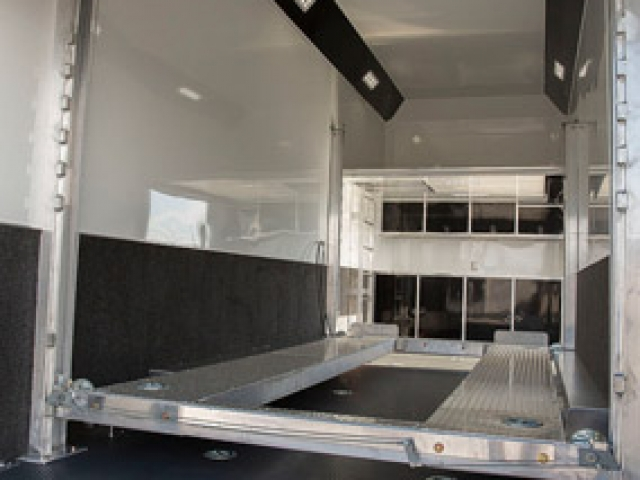 Custom Trailers, Car Hauler, Sport, Stacker, 26ft Bumper, Pull Aluminum