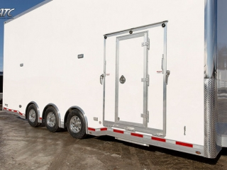 Custom Trailers, Car Hauler, Sport, Stacker, 26ft Bumper, Pull Aluminum