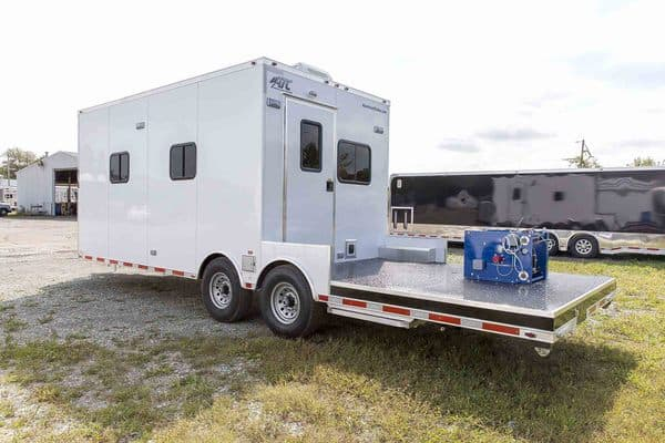 26-foot Custom Office Trailer with Storage